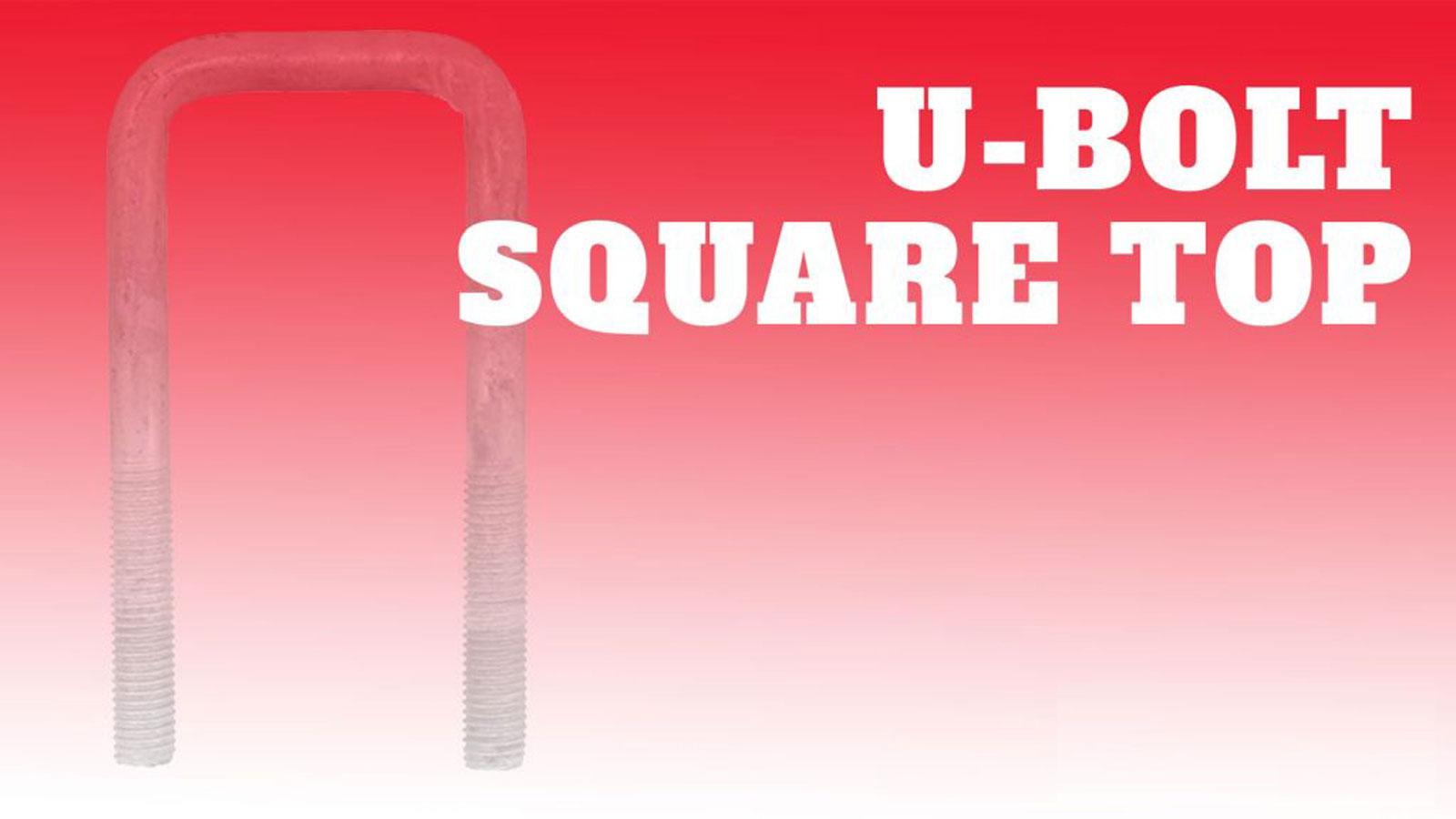 Castor-U-Bolt-Square-Top