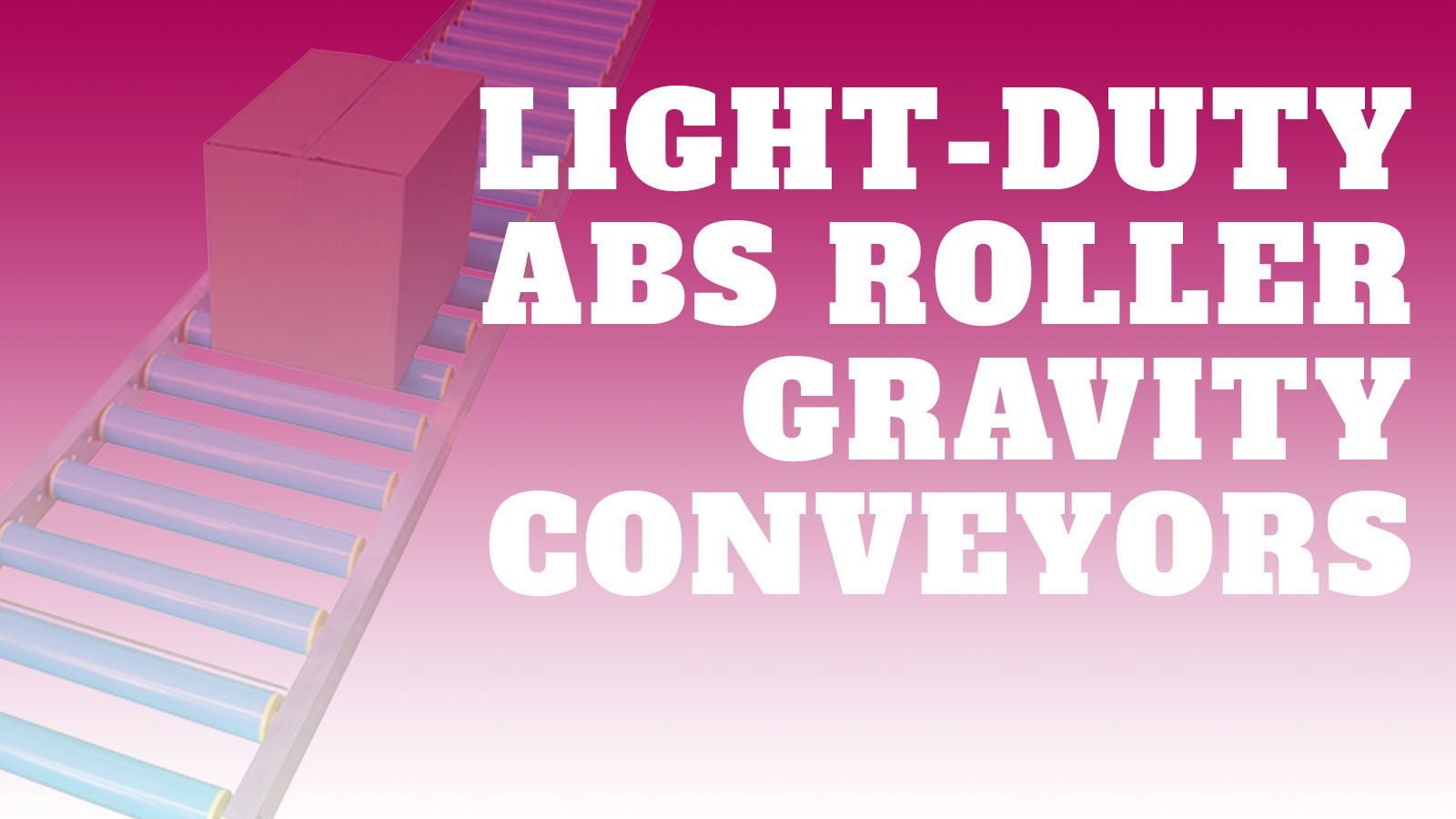 Conveyor-Light-Duty-ABS-Rollers